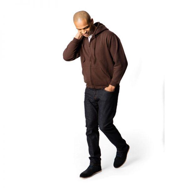 Classic Full Zip Hooded Sweatshirt