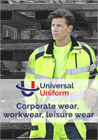Corporate wear, leisure wear and workwear
