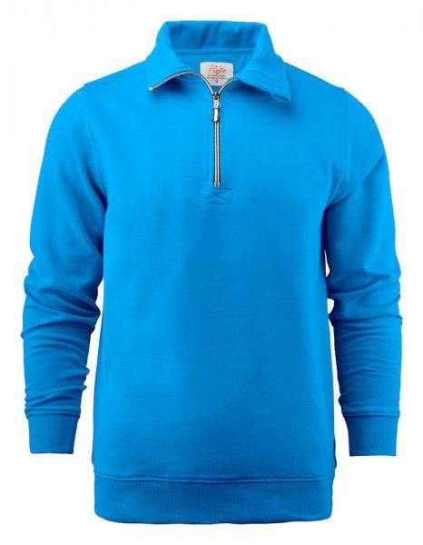 1/4 Zip Collared Sweatshirt