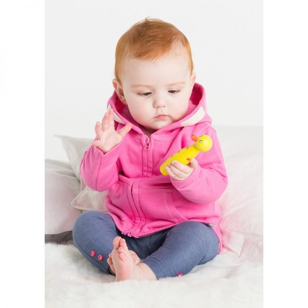 Baby and Toddler Zipped Hooded Sweatshirt