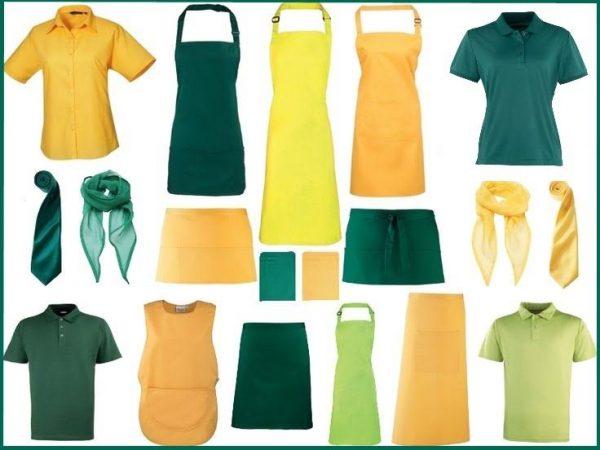 Colours - Green and Yellow Mix