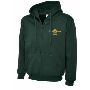 Train 35006 Full Zipped Hooded Jacket