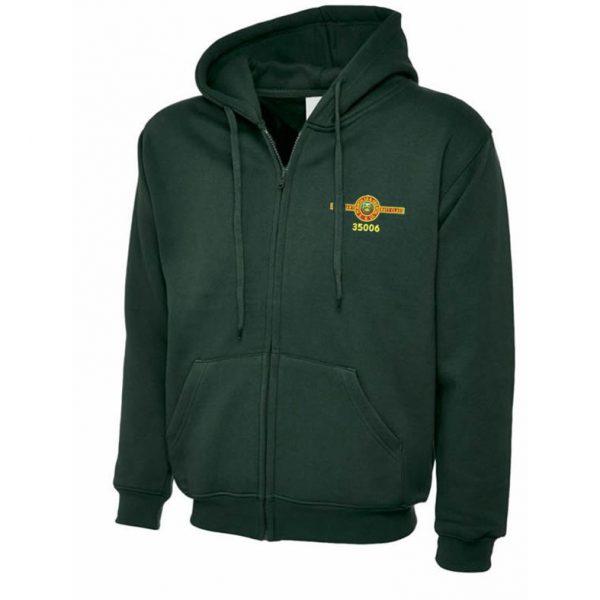 Train 35006 Full Zipped Hooded Jacket