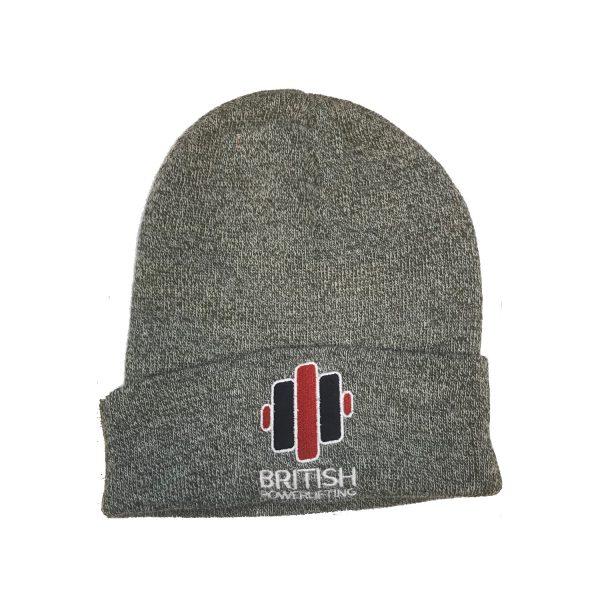 British Powerlifting Beanie Hat