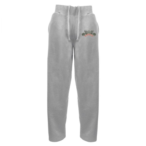 Cheltenham Weightlifting Club Official Embroidered Open Hem Sweatpants