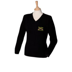 Dinmore Manor Ladies V Neck Jumper