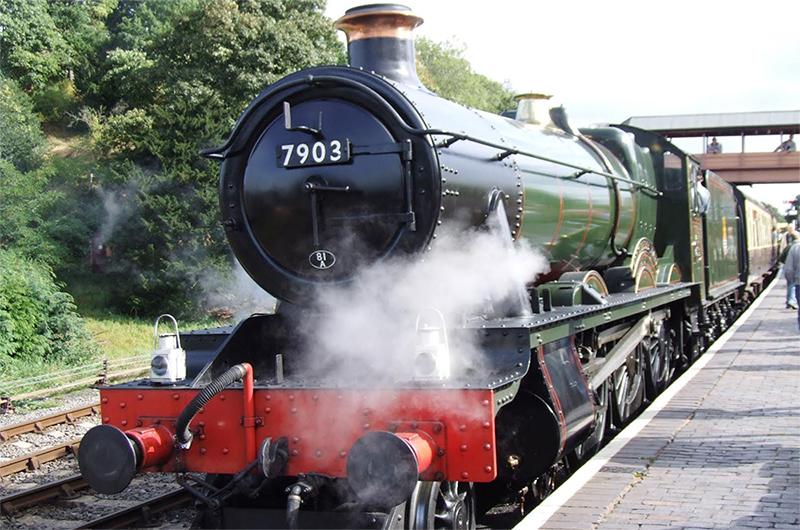 Foremark Hall Train
