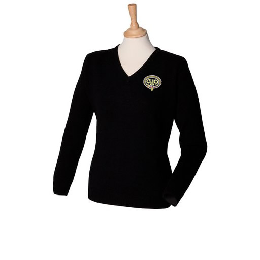 GWR Ladies V Neck Jumper