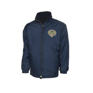 GWR Reversible Fleece Jacket in Navy