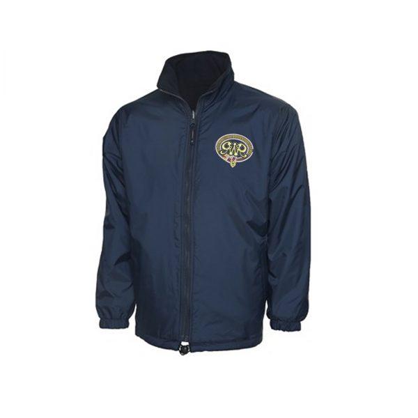 GWR Reversible Fleece Jacket in Navy