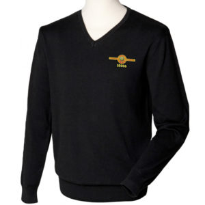 Train 35006 Mens V Neck Jumper