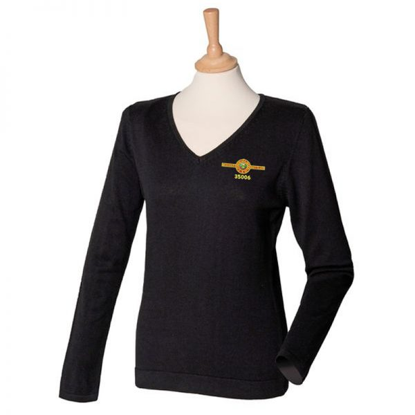 Train 35006 Ladies V Neck Jumper