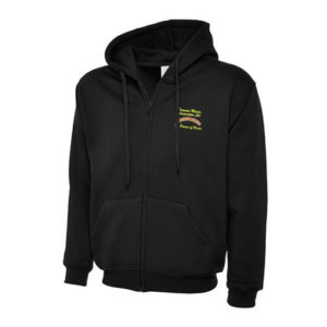 Dinmore Manor Hooded Jacket in Black