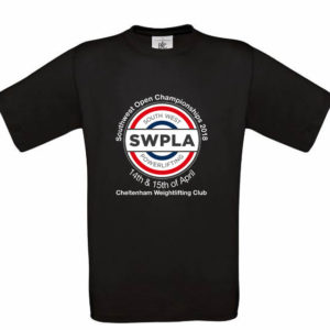 South West Powerlifting T-Shirt 2018
