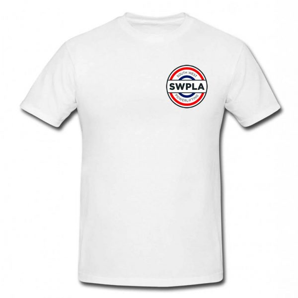 South West Powerlifting T-Shirt in White