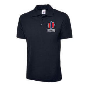British Powerlifting Polo Shirt