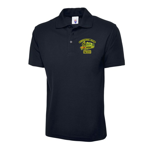 Foremarke Hall Polo Shirt in Navy