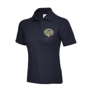 Ladies GWR Polo in Navy