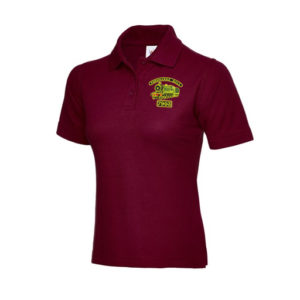 Ladies Formarke Hall Polo in Maroon