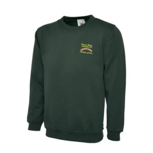 Dinmore Manor Sweatshirt in Bottle Green