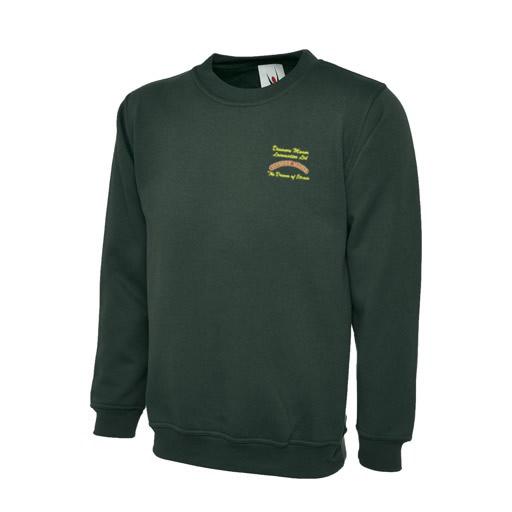 Dinmore Manor Sweatshirt in Bottle Green