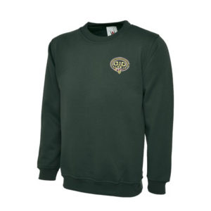 GWR Sweatshirt in Bottle Green