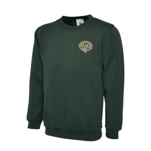 GWR Sweatshirt in Bottle Green