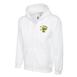 Foremarke Hall Hooded Jacket in White
