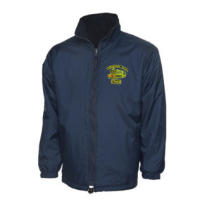 Foremarke Hall 7903 Reversible Fleece Jacket in Navy