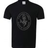 Black Corraine Collins T-Shirt with logo in Tungsten