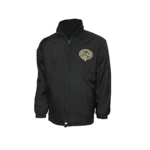 GWR Reversible Fleece - Black