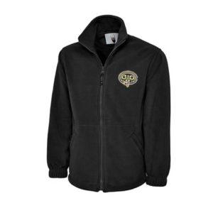 GWR Zipped Fleece - Black