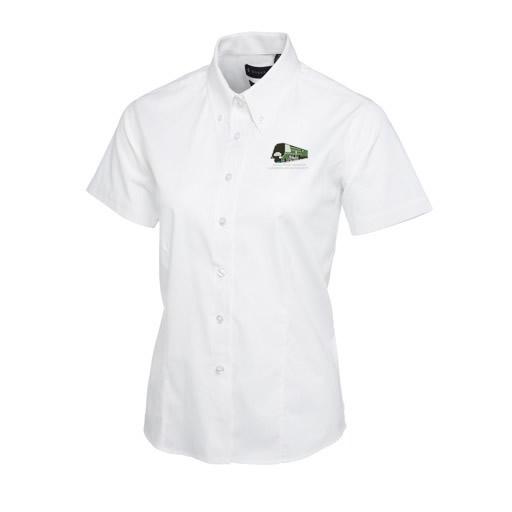 35011 Ladies Short Sleeve Blouse