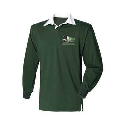 General Steam Embroidered Rugby Shirt