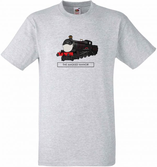 Masked Manor Tee - Dinmore Manor Limited Edition