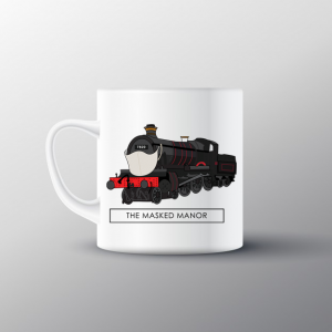 Masked Manor Mug