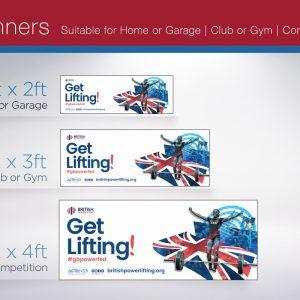 2021 British Powerlifting Banner